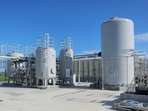 原料用水処理設備