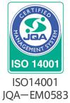 ISO14001 JQA-EM0583